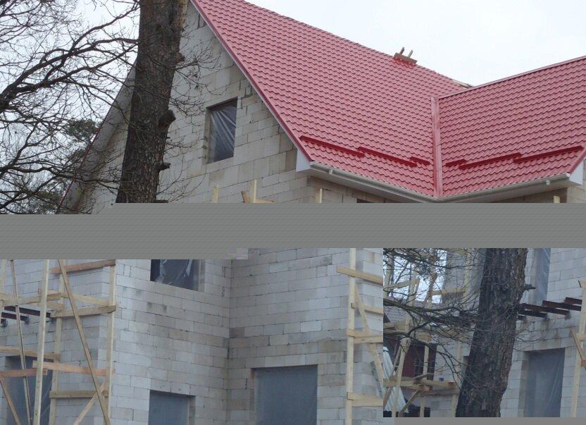 Цена дома из газобетона построенного